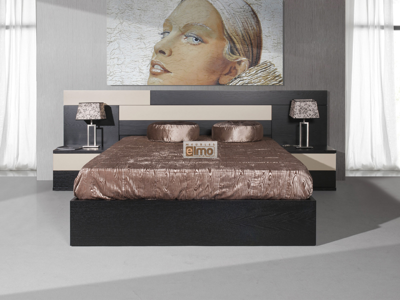 Meubles portugais - chambre design - lit, tête de lit, armoire, commode, chevet